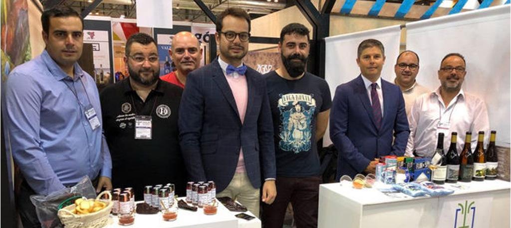 La Asociación Gastronómica Palmera exhibe en el 'Salón de Gourmets' de Madrid lo mejor de La Palma