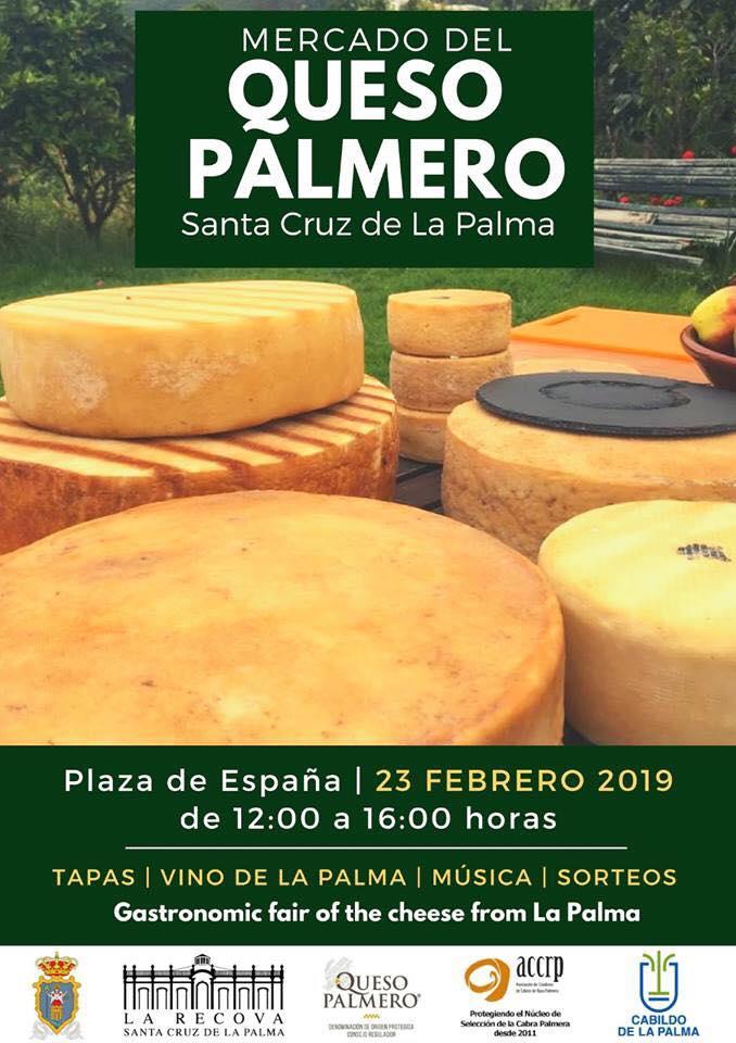 El Ayuntamiento de Santa Cruz de La Palma organiza el primer Mercado del Queso Palmero