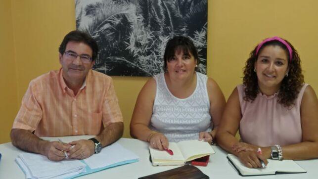 Representantes del Queso Palmero exponen al Cabildo la situación del sector