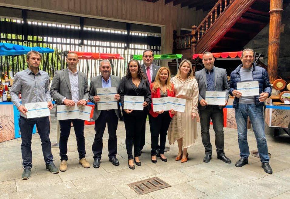 El Cabildo da la enhorabuena a los productores palmeros premiados en Agrocanarias 2019