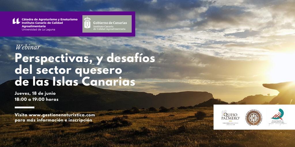 Perspectivas, y desafíos del sector quesero de las Islas Canarias Webinar