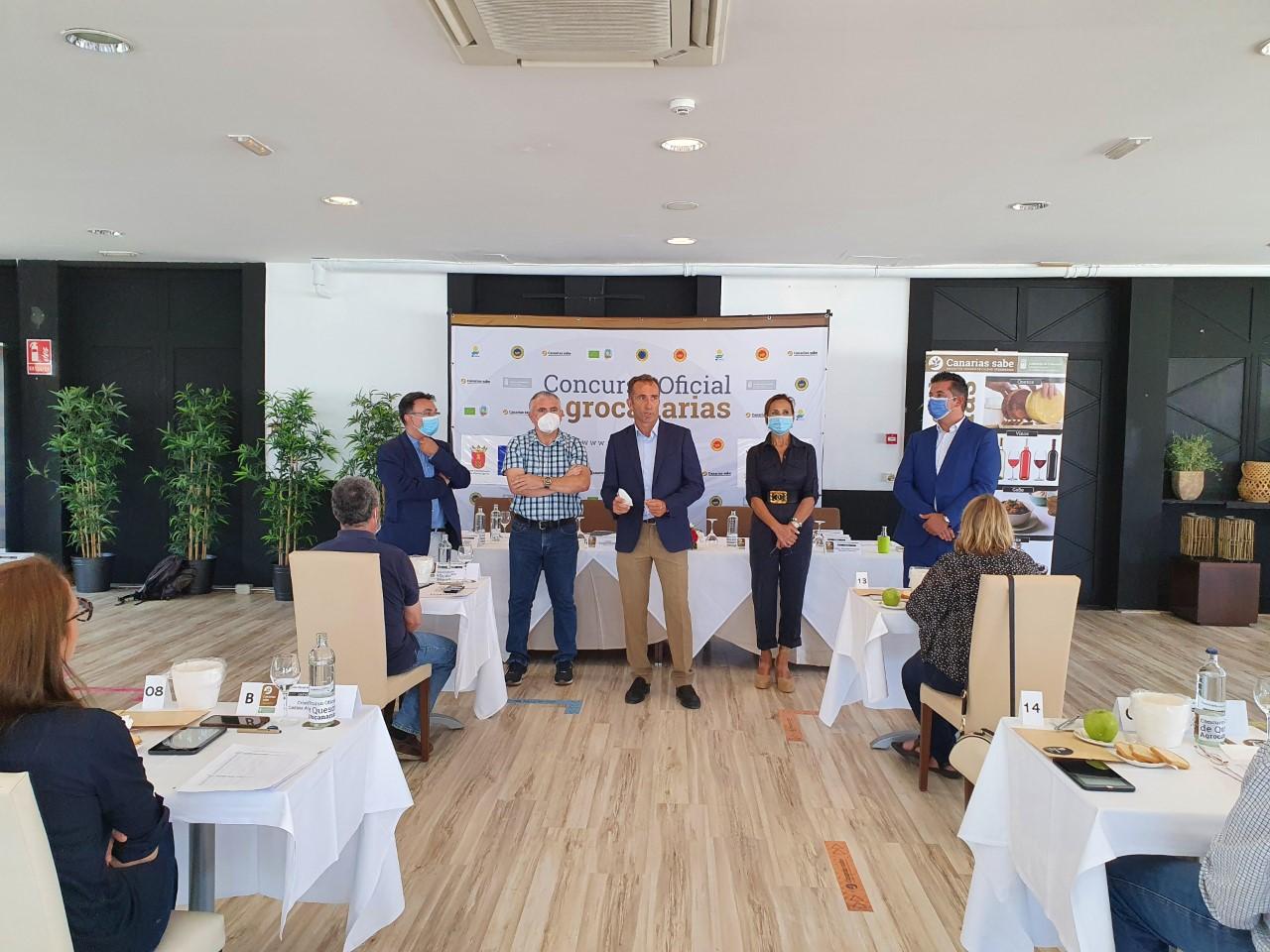 El Concurso Oficial Agrocanarias elige el mejor queso de las islas entre 194 muestras