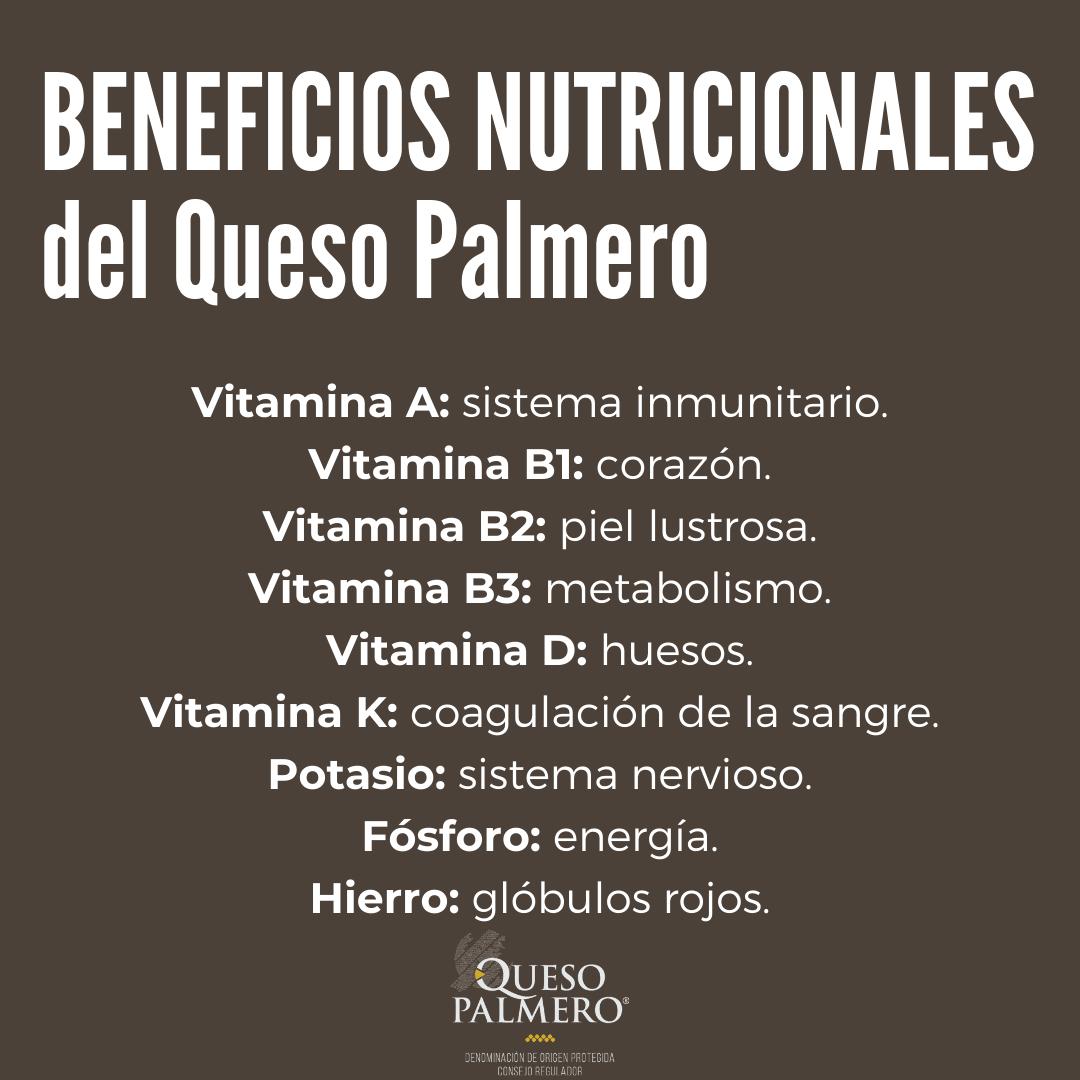 Beneficios Nutricionales del Queso Palmero